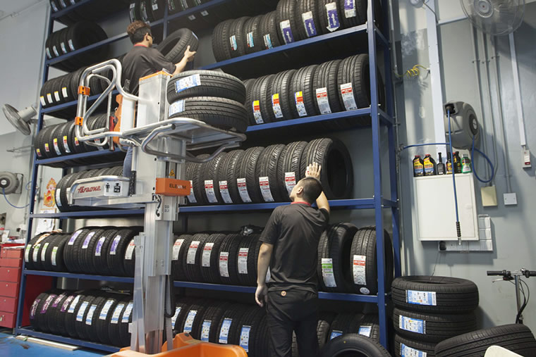 Internal Tyre Quality Check